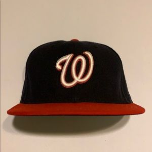 New Era Washington Nationals Fitted Baseball Hat